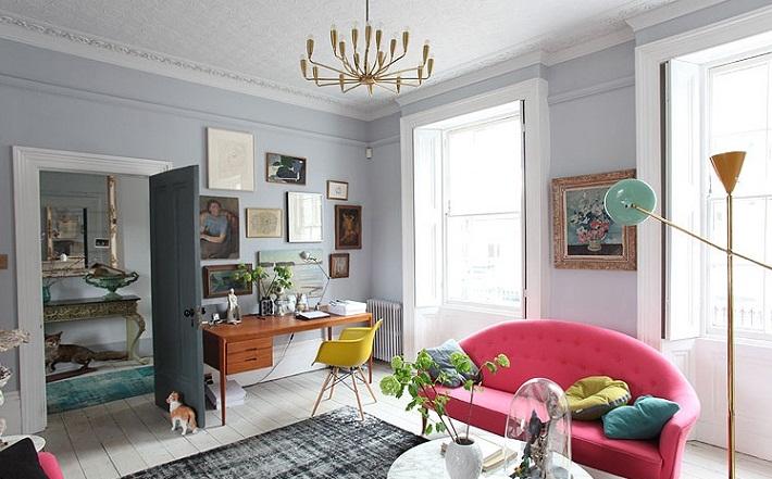 casa colorata Londra (5)